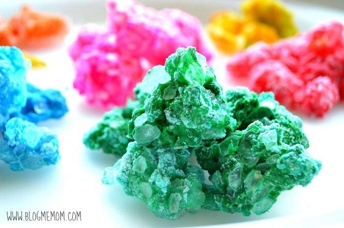 homemade rocks and gems for kids