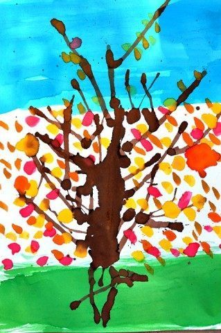 kids fall art projects