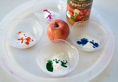 materials for apple experiments