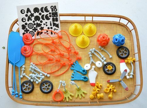 materials forbuilding toys