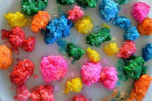 rocky gems for sensory play