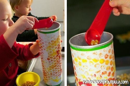 corn craft shakers