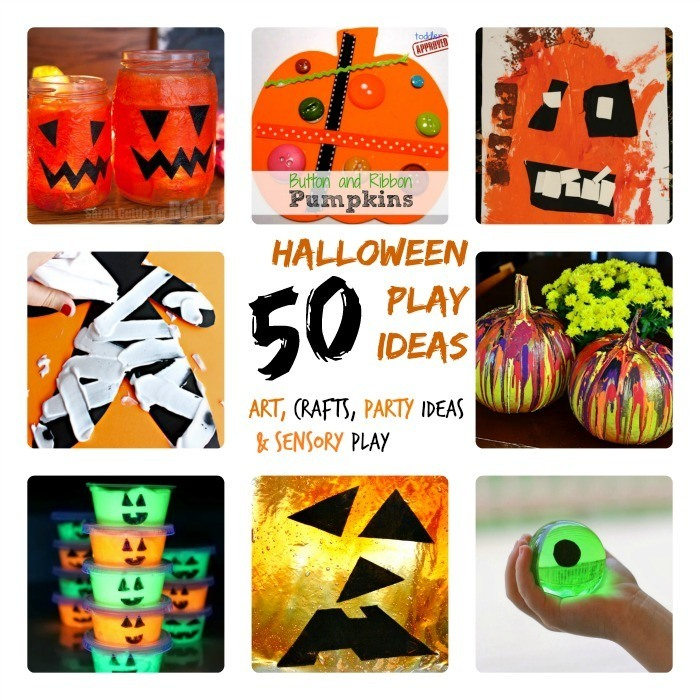 halloween activities for kids - 50 of them