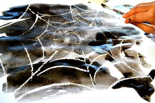 spider-web-halloween-craft