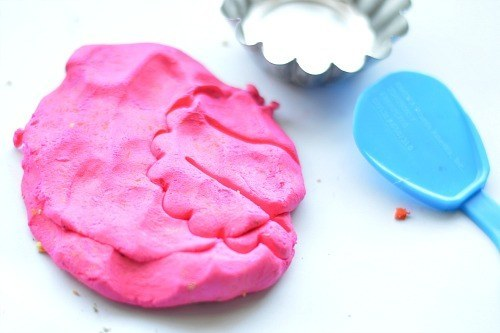 easy to make no cool playdough recipe