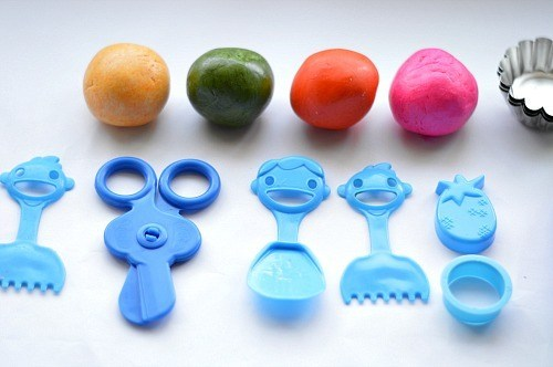 playdough play ideas