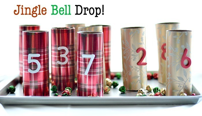 hristmas Fine Motor Activities for kids with jingle bells
