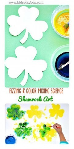 FizzingColor| Mixing|Shamrock Art