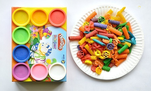 MATERIALS FOR PASTA PLAY