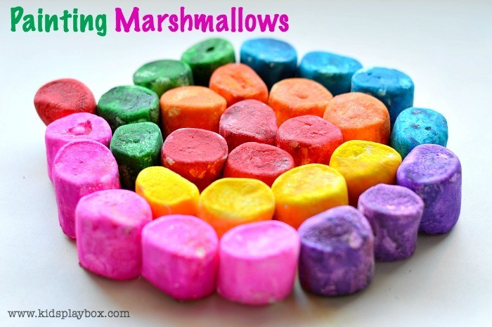Paint roasting marshamallows| Kids Play Box | Art for kids