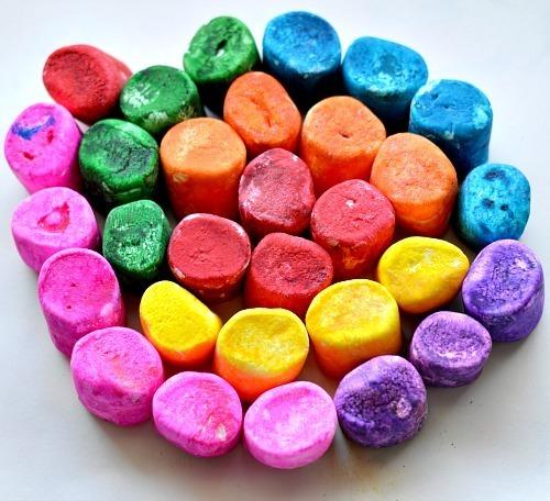 color marshmallows