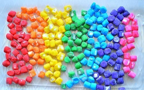 rainbow marshmallows