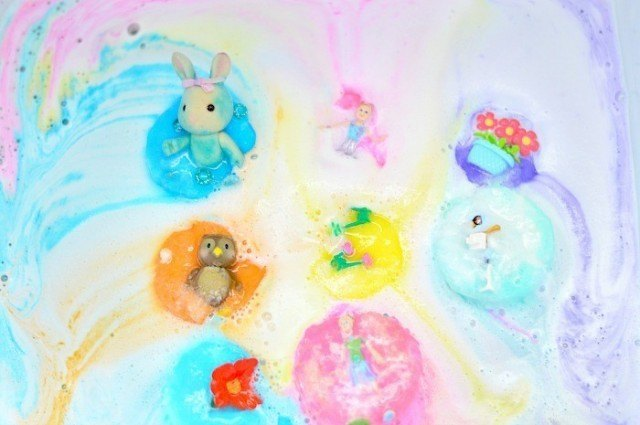 all the colors sensory play