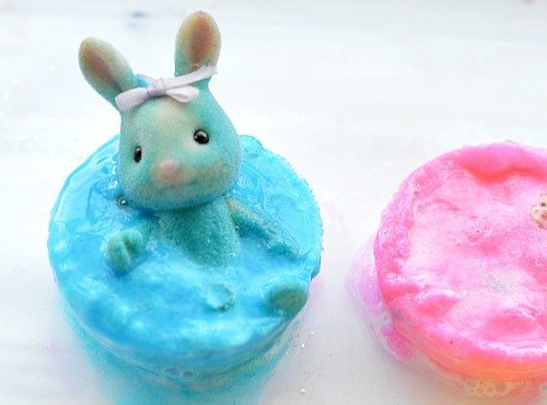 bunny sensory science for easter