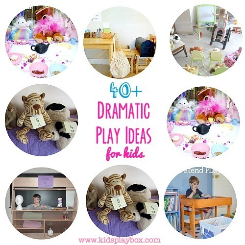 collection of dramatic play ideas for kids