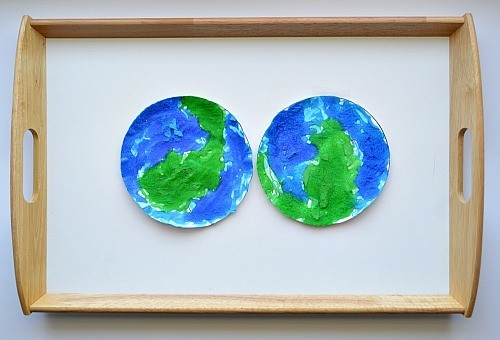 earth day art craft for kids
