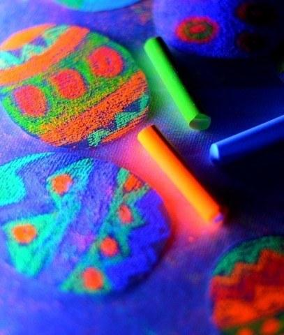 kids art easter craft