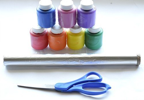 materials for rainbow craft