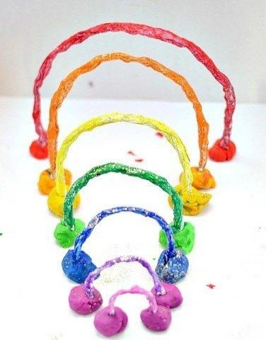 rainbow craft all the colors of the foil rainbow