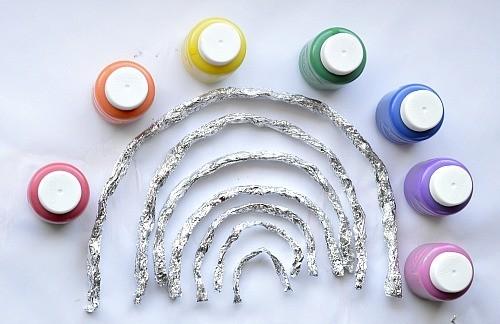 ready to paint the 3d rainbow