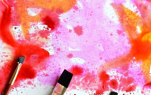 ART FOR KIDS WITH WATERCOLOR
