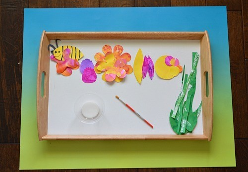materials for spring art