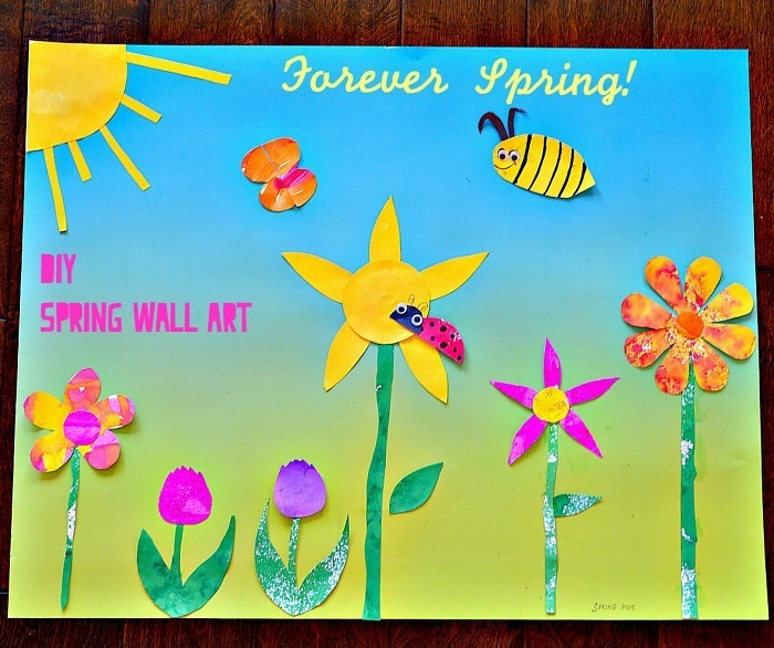 spring art for walls