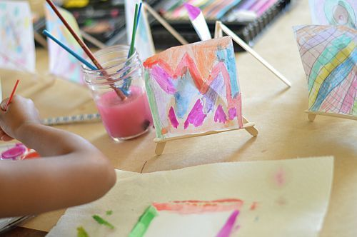making mini art