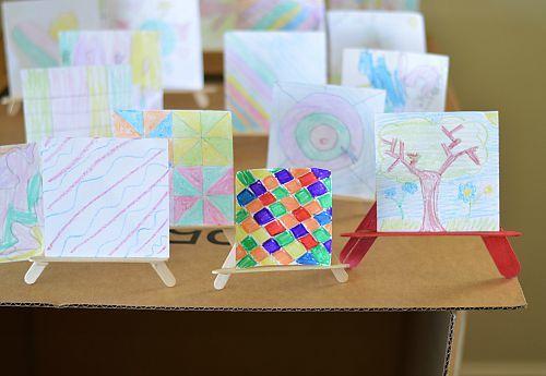 table top kids art