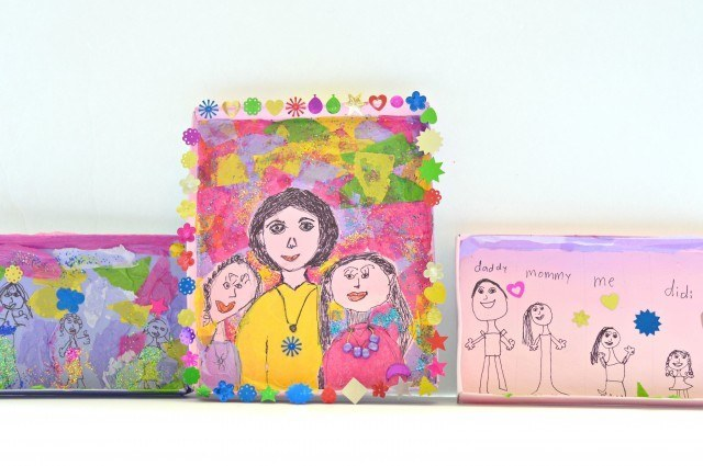art activities for kids with box lids