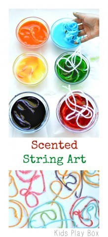 Scented String Art Projects