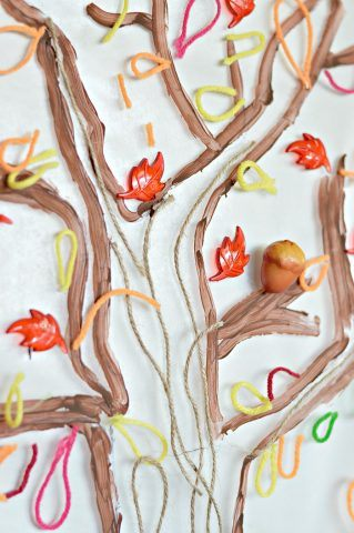 fall tree art projects kids can do