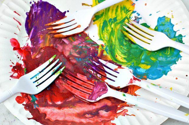 fork art supplies