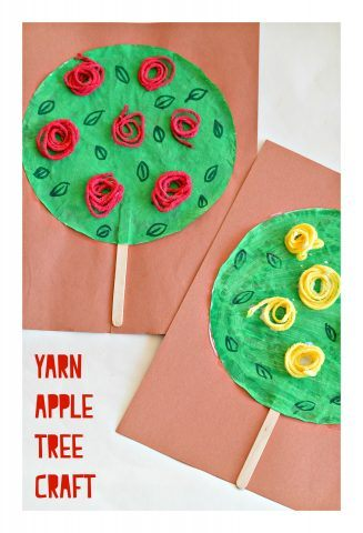 Apple tree crafts kids can make