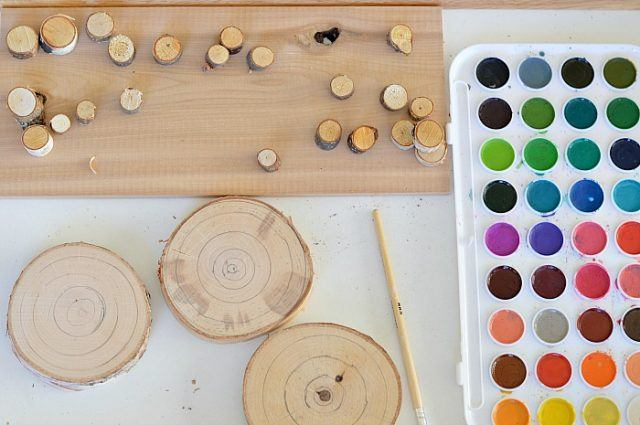 art-for-kids-wood-cookies