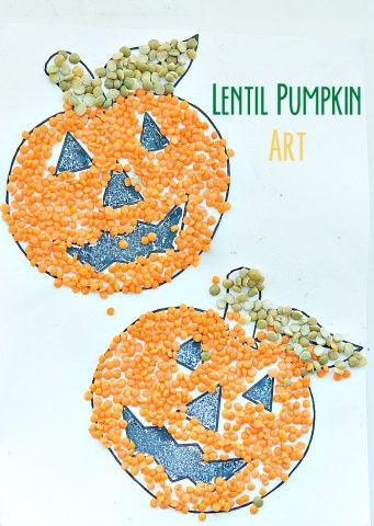 PUMPKINS WITH LENTILS