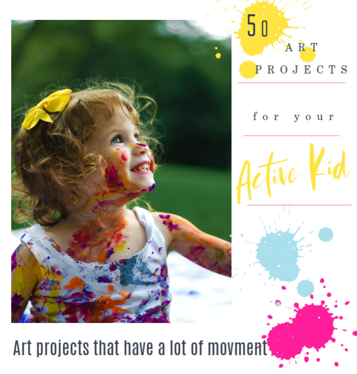 fifty art projects for active kids