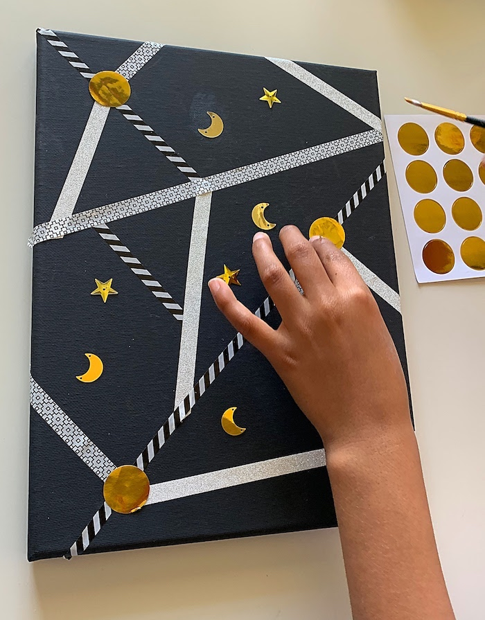 night sky kids craft10